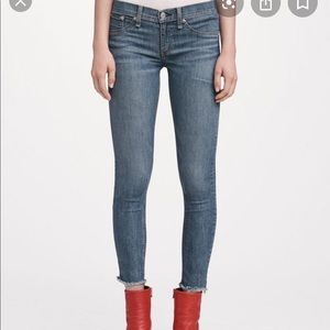 Rag & Bone Ankle Skinny Jeans!